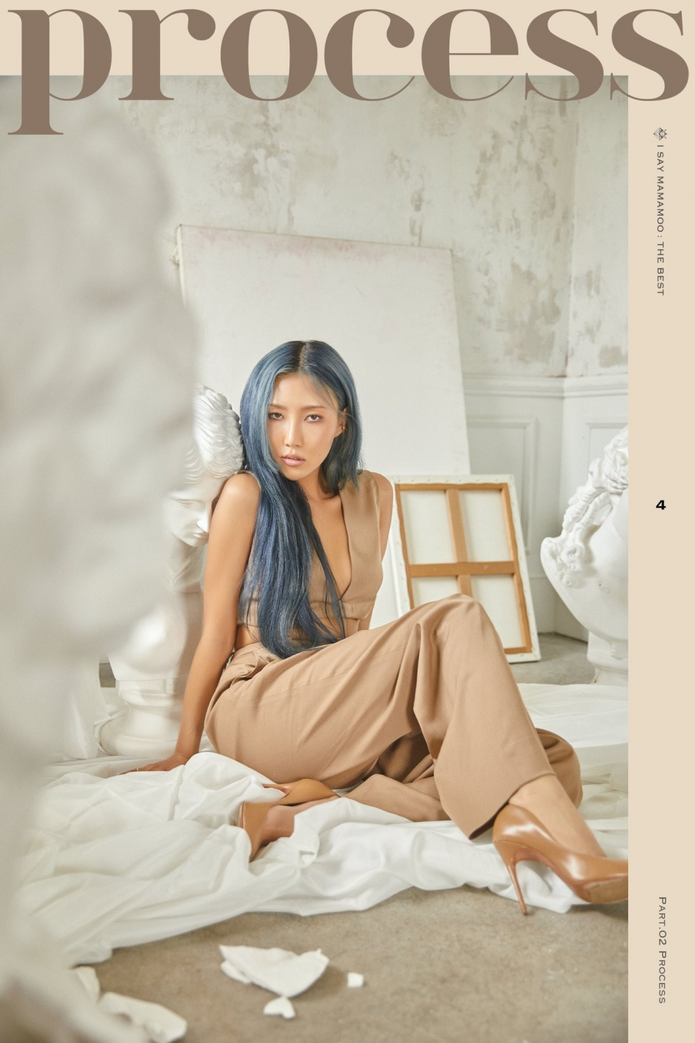 MAMAMOO releases teaser for 'I SAY MAMAMOO: THE BEST'... deep mood