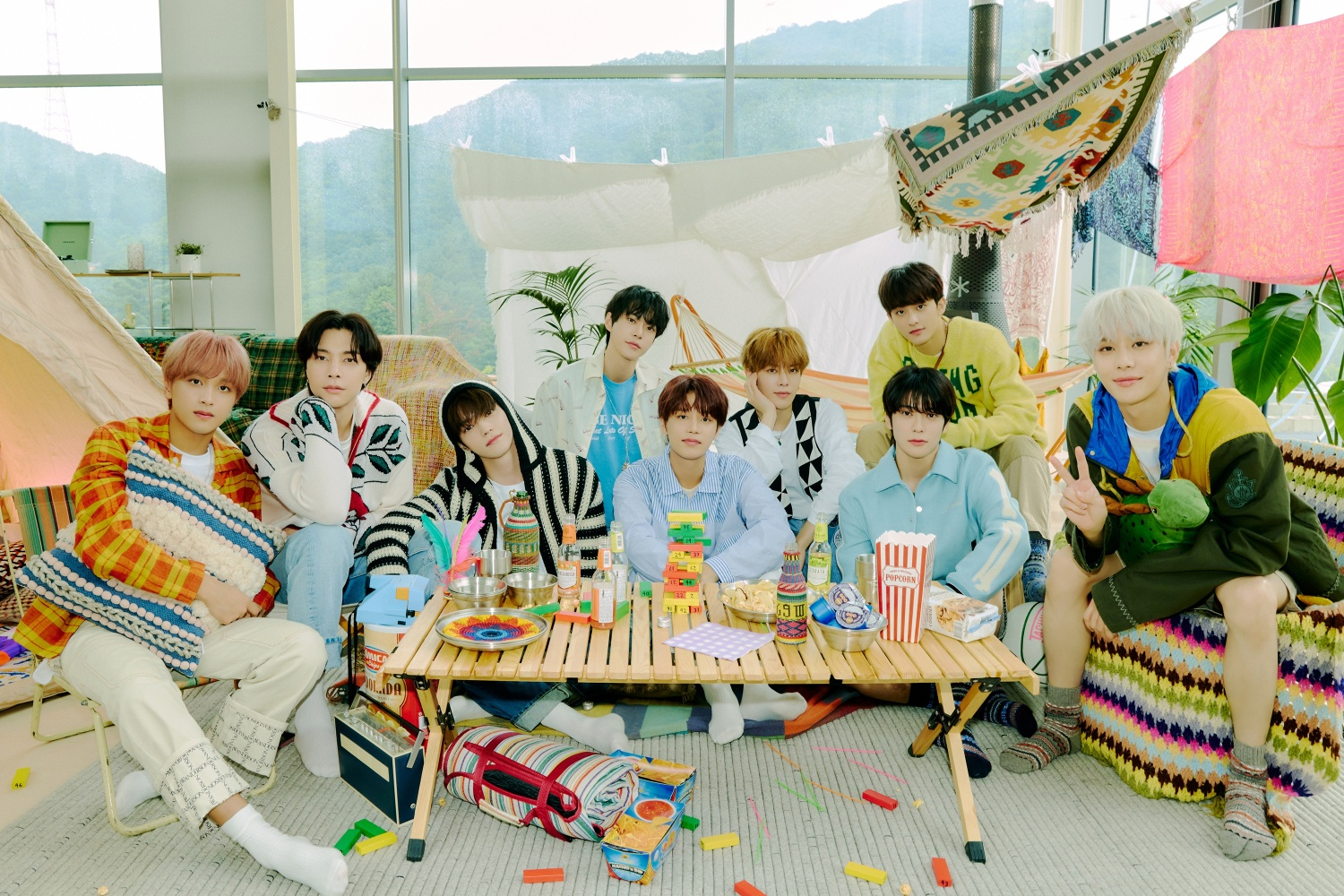 NCT 127, released the track video of 'Road Trip', the 3rd full-length album today
