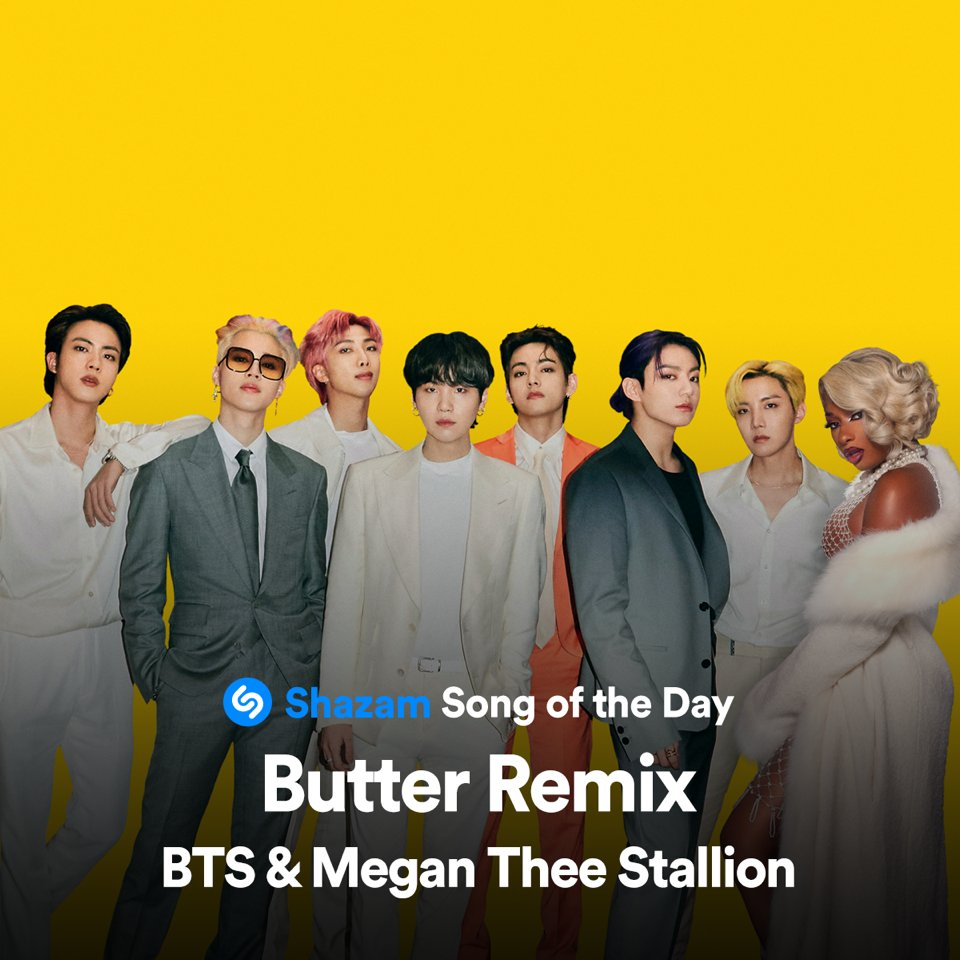 BTS' 'Butter' retakes 1st place on Billboard's 'Hot 100'... Total 10 weeks