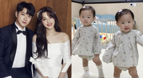 Former LABOUM Yulhee Updates on Current Status with F.T. Island Minhwan and Kids Following Military Discharge