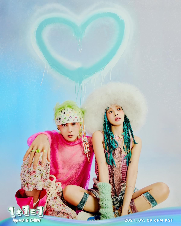 HyunA and Dawn, 1+1=1