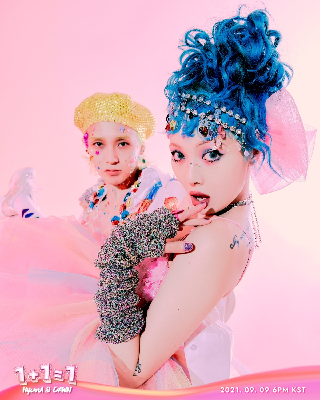 HyunA, 1+1=1