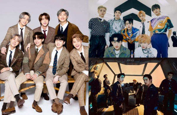 Best-Selling K-pop Artists in the First Half of 2021