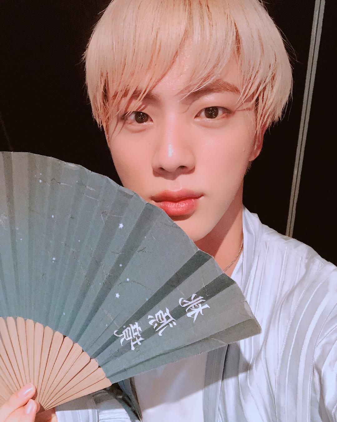 BTS Jin, a beauty that shoots women's hearts
