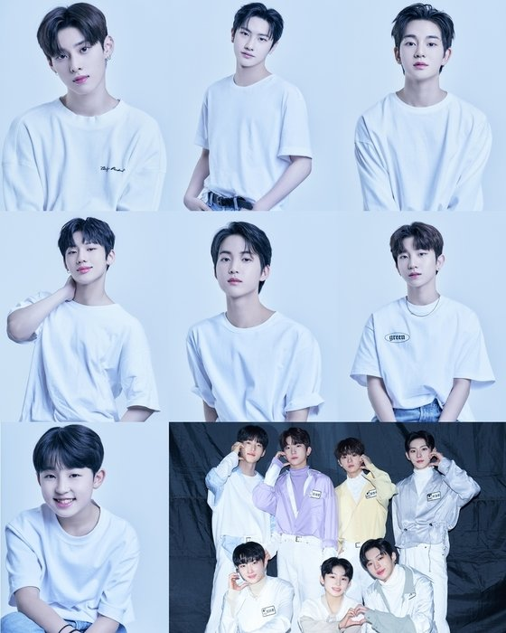 P NATION's first boy group born with 'LOUD', 7 members 7 color profiles released