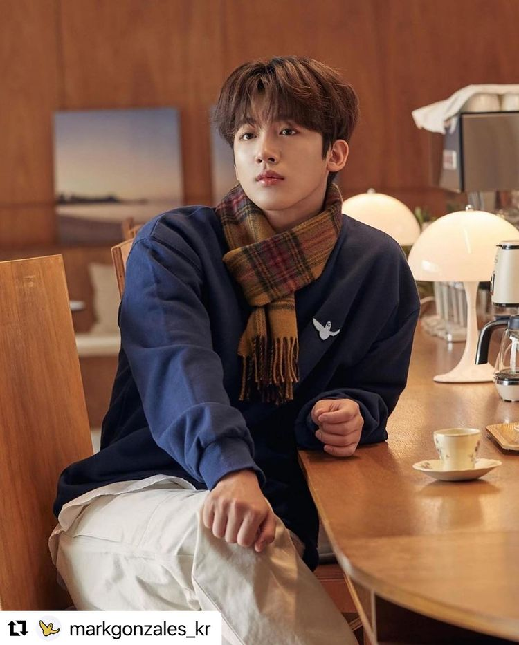 Kim Yo-han, dandy autumn look... Warm visuals
