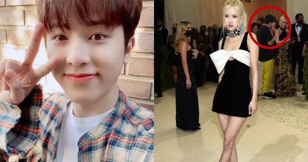 Was TREASURE Junghwan at the Met Gala With BLACKPINK Rosé? Here's the Truth