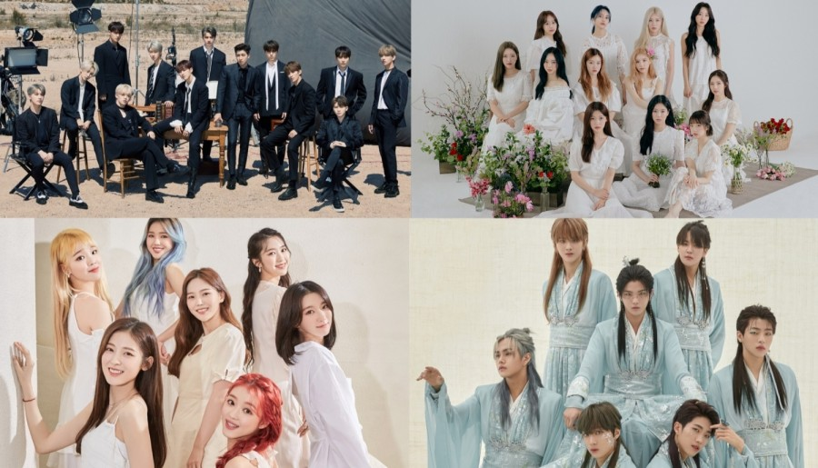 SEVENTEEN, Oh My Girl, LOONA & More Awarded Hallyu Culture Daesang at 2021 Newsis K-pop Expo