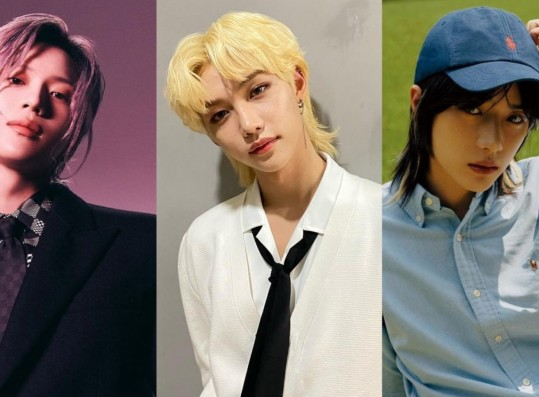 Marie Claire Named 7 Male Idols Who Are Known For Their Legendary Long Hair