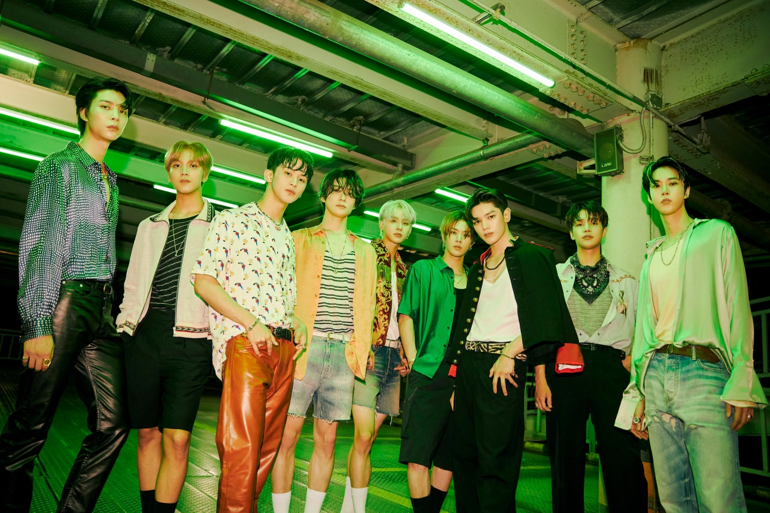 NCT 127's first stage of new song 'Sticker' at 'The Late Late Show with James Corden' in the US