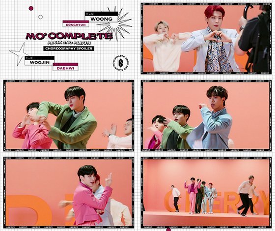 AB6IX, new song 'CHERRY' choreography spoiler video released... energetic performance