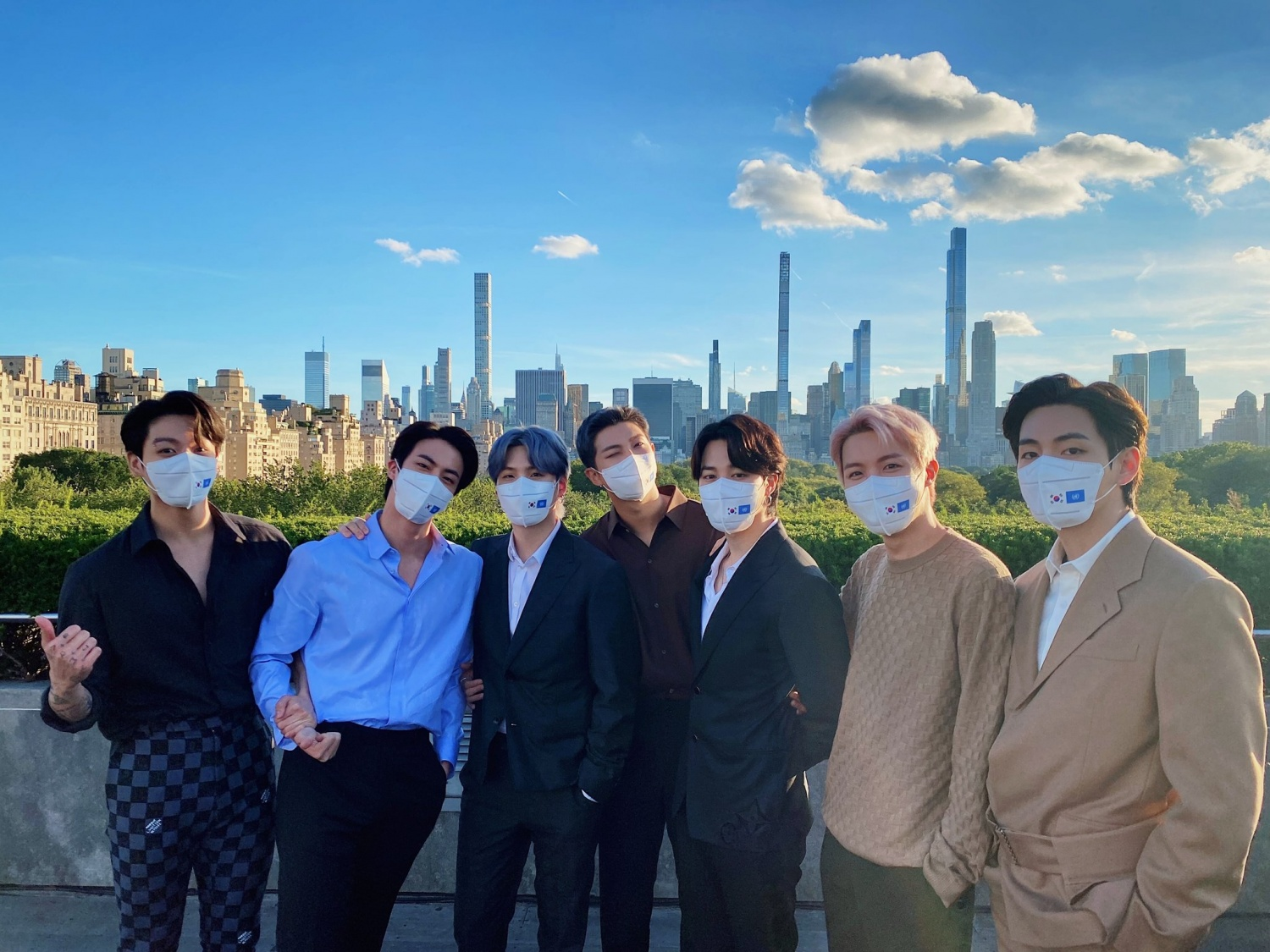 BTS, a national treasure-class visual that shines in the US