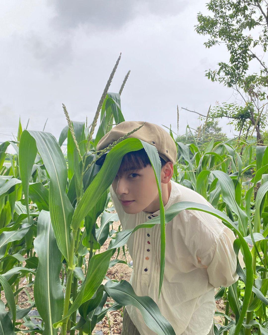 Cha Eun-woo, still handsome... boy beauty