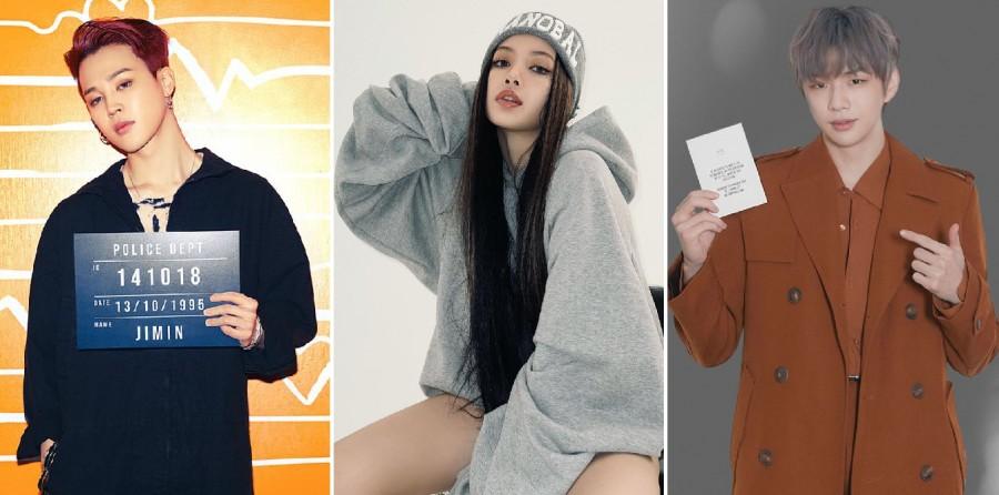 BTS Jimin, BLACKPINK Lisa, Kang Daniel