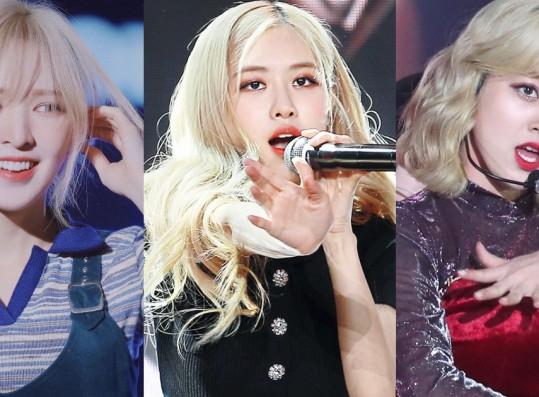 These 9 Female K-Pop Idols Were Born to Dye Their Hair Blonde