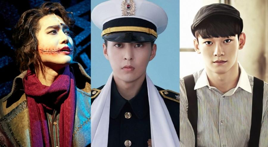 EXO Suho, Xiumin, Chen