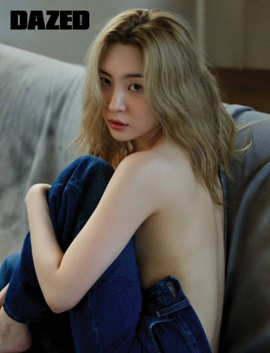 Sunmi DAZED Korea