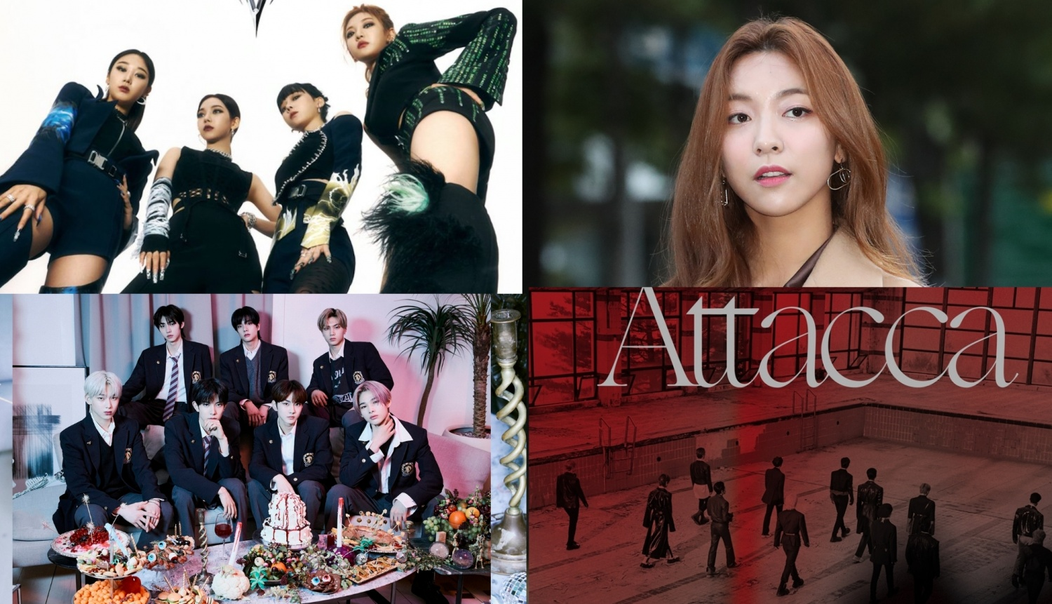 aespa, ENHYPEN, f(x) Luna, & More Join the October Comeback Lineup: Which Release Do You Anticipate the Most?