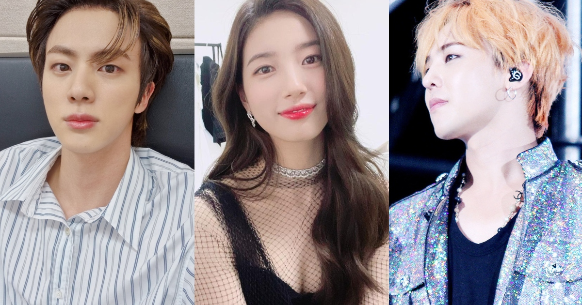 BTS Jin, Suzy, and More: Taiwanese Media Outlet Names the K-Pop Stars Who Splurged on Gifts for Their Families