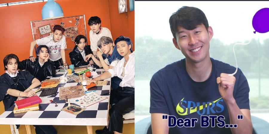 BTS, Son Heung Min