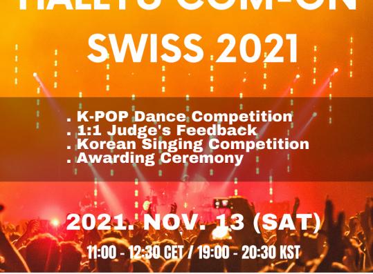 Hallyu Com-On Swiss 2021