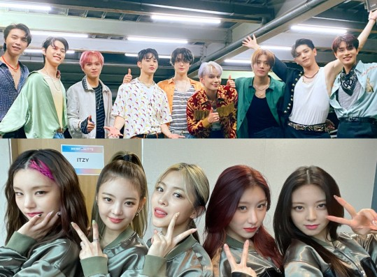 NCT 127 and ITZY