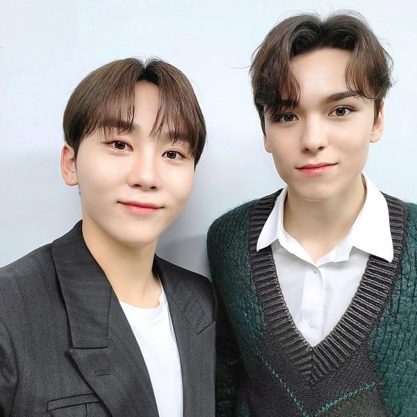 SEVENTEEN Seungkwan and Vernon