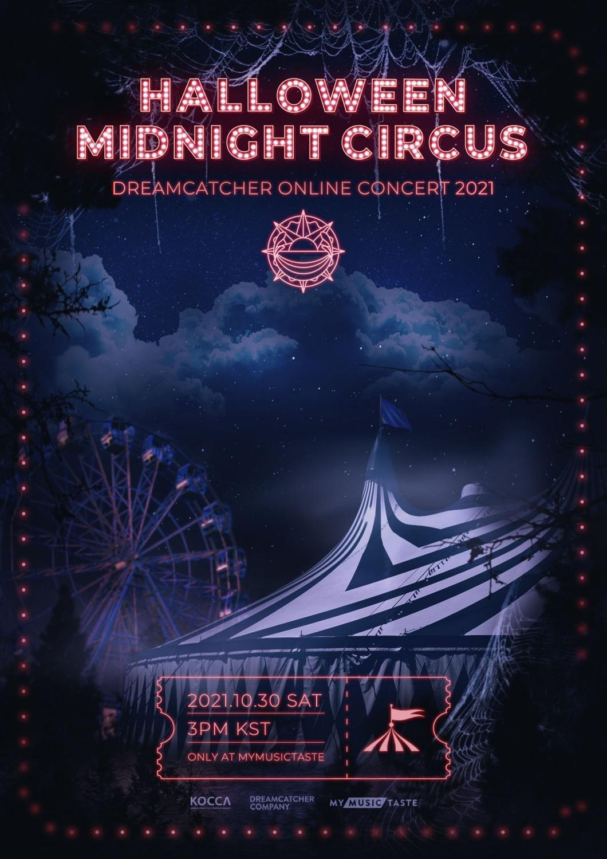 K-Pop Rock Goddesses Dreamcatcher Return for Their 4th Online Concert: 'HALLOWEEN MIDNIGHT CIRCUS'