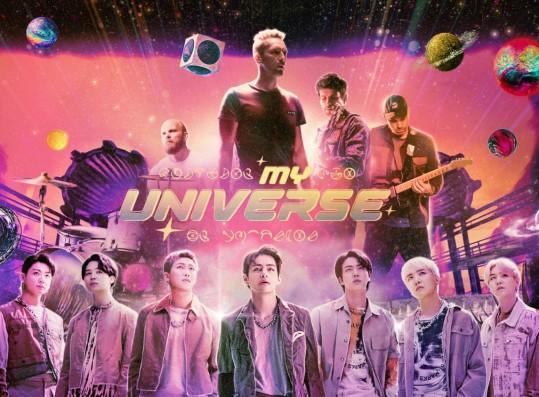 BTS x Coldplay My Universe