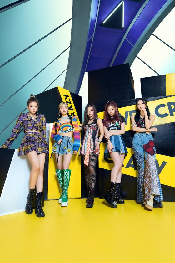 ITZY ranked 11th on the US Billboard 200