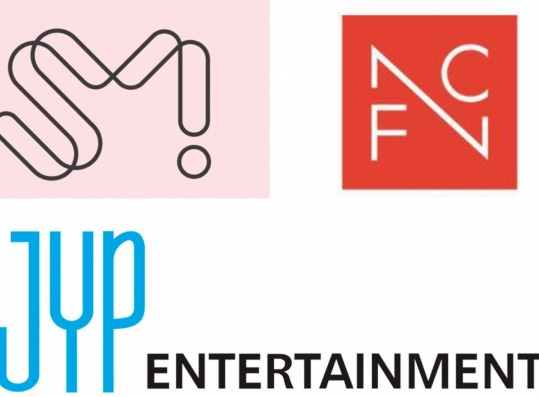 SM, JYP, and FNC Entertainment