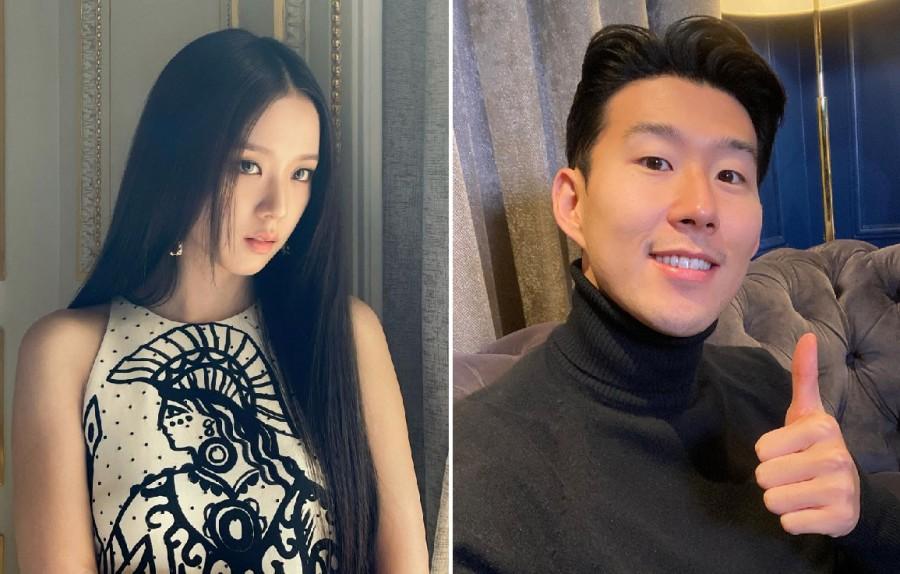 BLACKPINK Jisoo, Son Heung Min