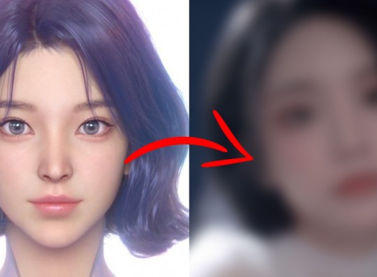 This Female Idol is Gaining Attention for Looking Like Naevis from aespa's Music Videos