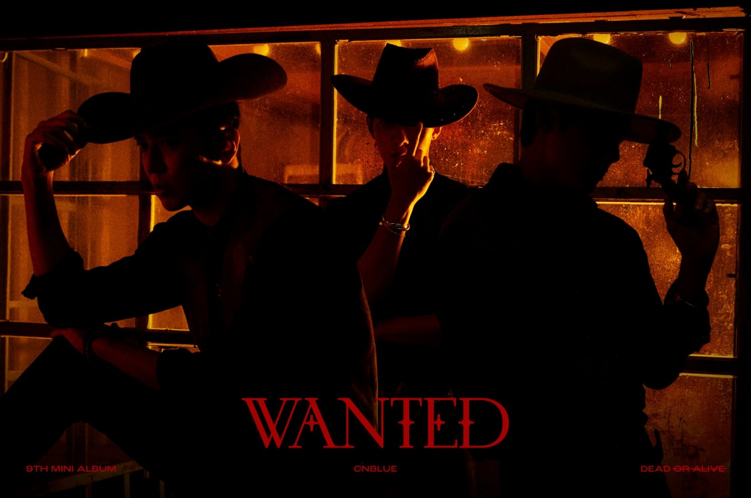 CNBLUE releases teaser for new album 'WANTED'... Charisma Hunter Transformation