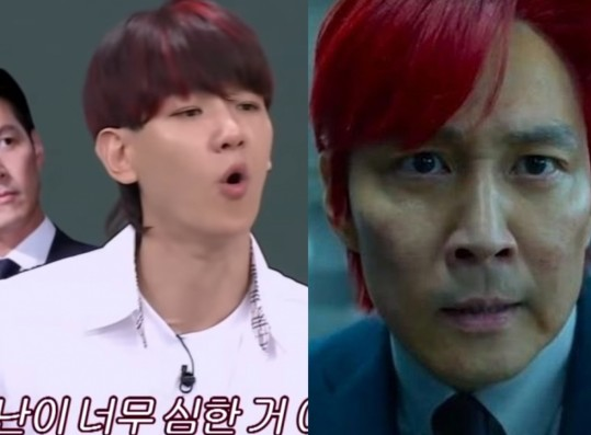 EXO Baekhyun Being Praised by Lee Jung Jae Resurfaces + The Many Times The Idol Imitated the 'Squid Game' Star