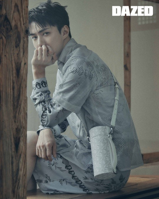 EXO Sehun, fatal eyes.. Elegant visuals