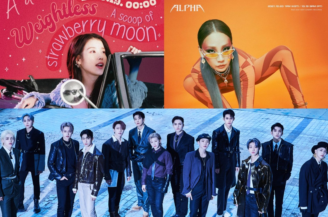 IU, CL, SEVENTEEN & More: These K-pop Artists Will Make Their Comeback in the 3rd Week of October