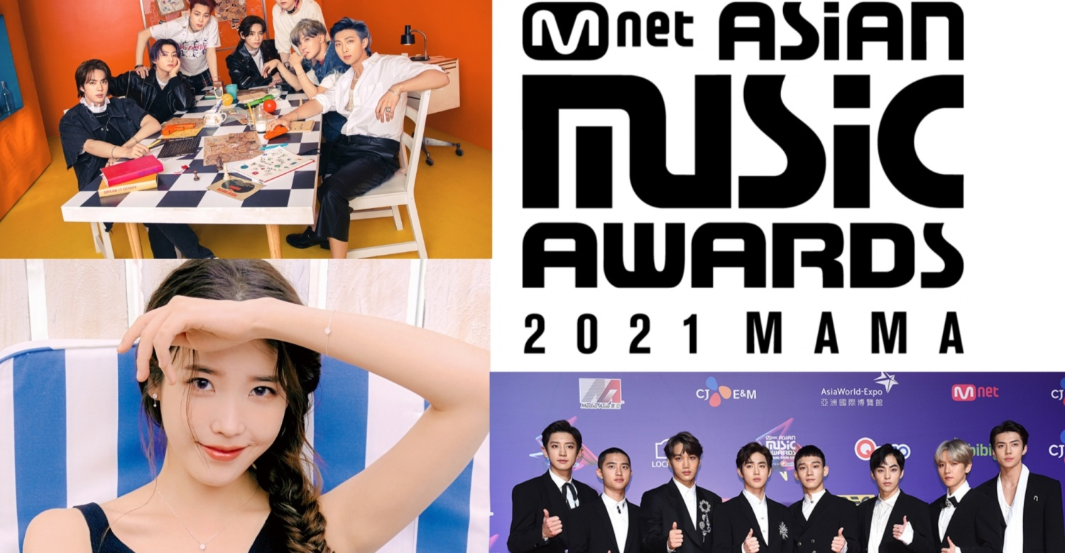 MAMA 2021 Lineup Predicted to Include BTS, EXO, TWICE, and aespa – But No IU & BLACKPINK? Speculated Roster Draws Mixed Reactions