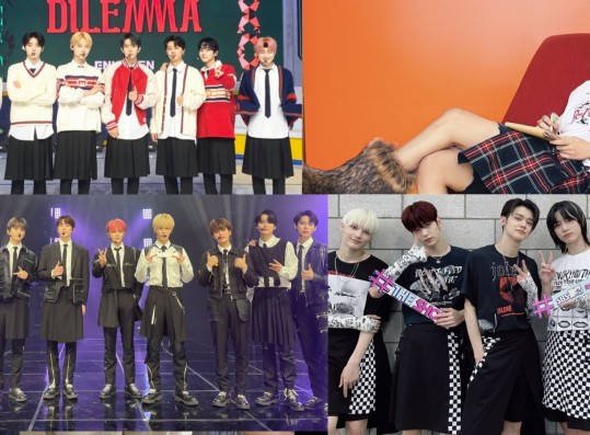NCT, TXT, ENHYPEN and More: Male Groups Who Broke the Gender Stereotypes By Wearing Skirts