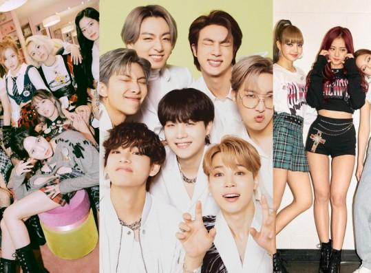 Several K-Pop Artists Nominated for 2021 MTV EMAs
