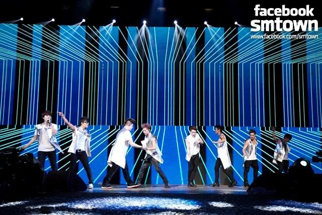 Super Junior Tour 'Super Show 5' in Sao Paulo in Brazil ...