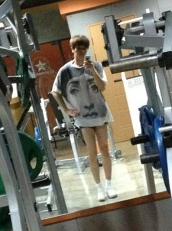 Super Junior LeeTeuk Shows Off His SNSD Legs : News