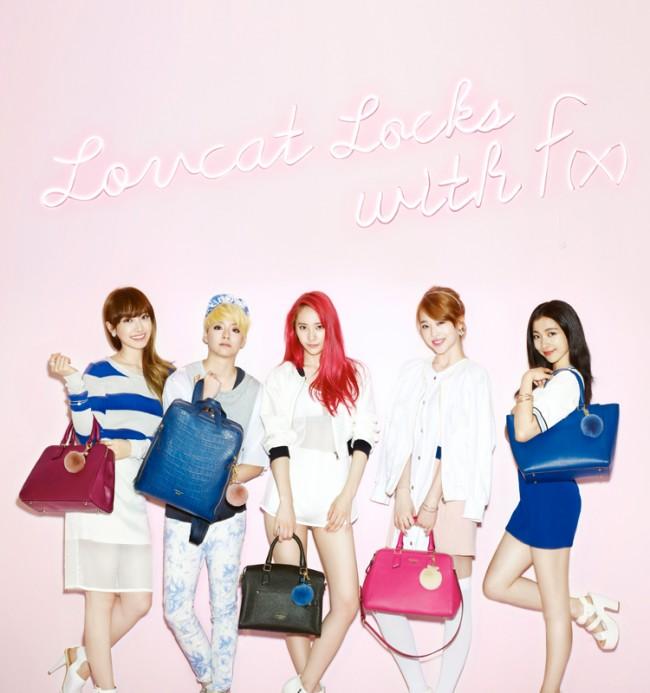 f(x) Krystal, Sulli, Luna, Amber and Victoria - LovCat ... F(x) Sulli 2014