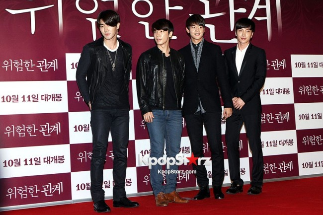 Super Junior and SHINee Attends The VIP Premiere Of ...
