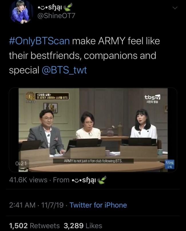 #onlyBTScan Trends On Twitter