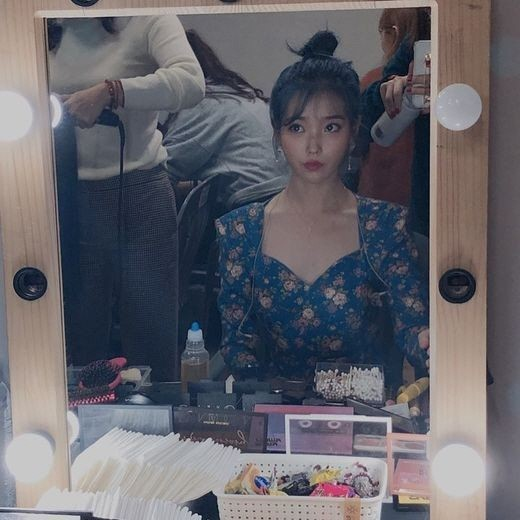 IU Shares Backstage Photos From Her Gwangju Concert