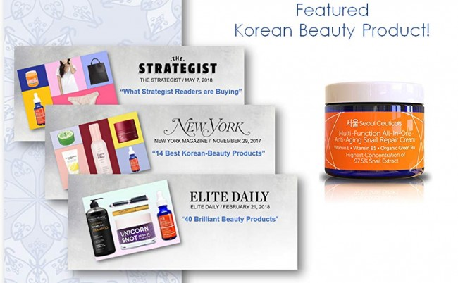 Get Plumper Cheeks And Younger Looking Face Only $16 With Seoul Ceuticals' Snail Repair Cream