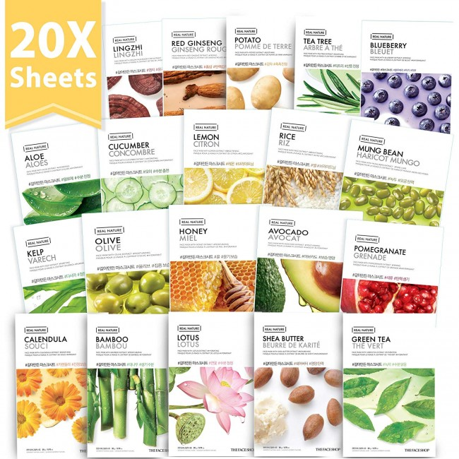 Have A Better-looking Skin In Just 2 Weeks, That's A Faceshop Real Nature Sheet Mask Promise!