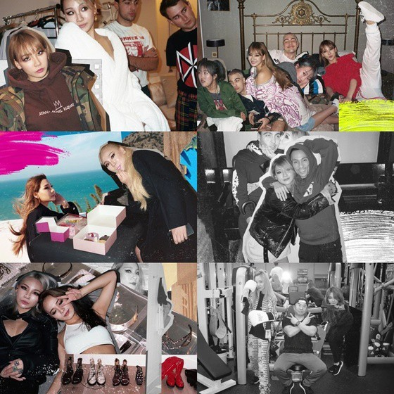 CL, new song teaser released… Release of past photos with 2NE1 memorieskey=>2 count3