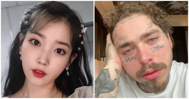Post Malone And Iu Are Now Following Each Other On Instagram